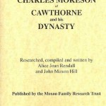 Cover of book Charles Mokeson of Cawthorne and his dynasty.