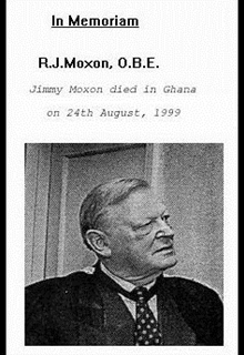 Portrait of Jimmy Moxon, Society founder.